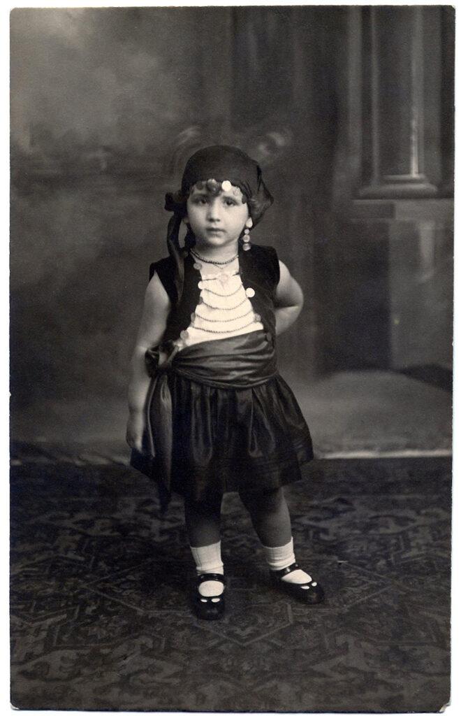 child gypsy costume photo image
