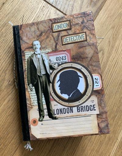 London Detective Junk Journal Cover