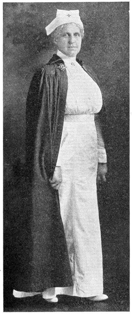 vintage nurse photo image