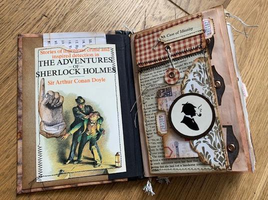 Sherlock Holmes journal page