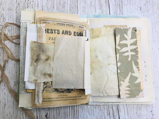 botanic leaf prints