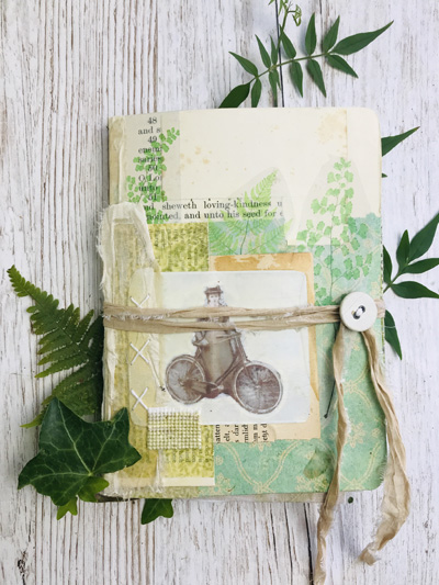 wayside wanderer junk journal cover