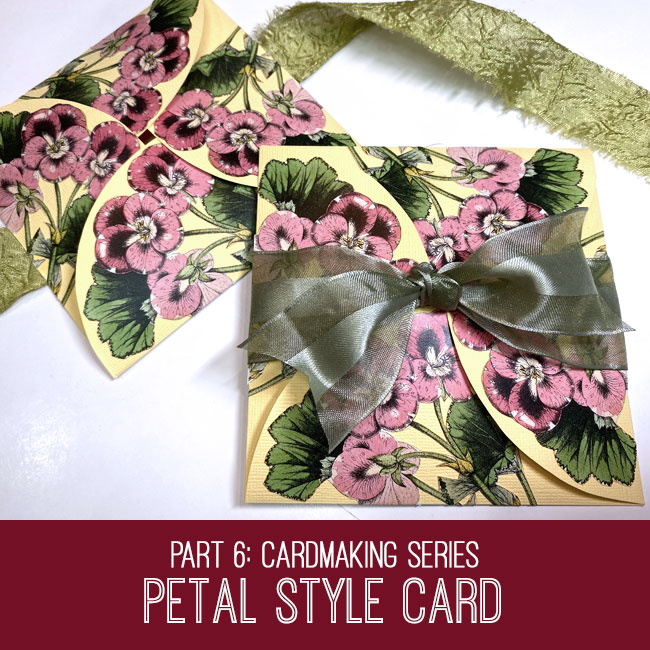 Petal Style Card
