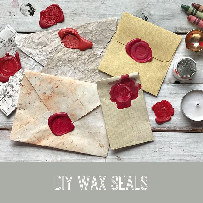 DIY wax seal tutorial