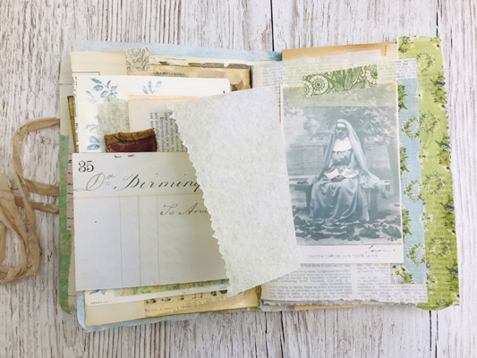 sage meadow printables easy journal page