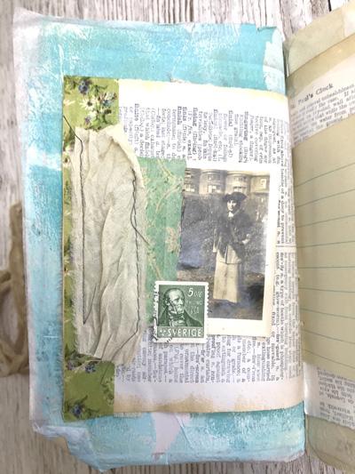 silk hinge journal page