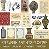 Steampunk Image Collection