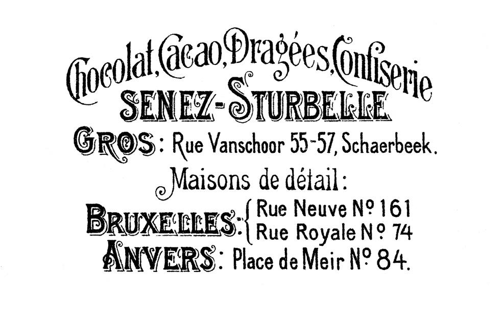 Senez Sturbelle French Advertising image