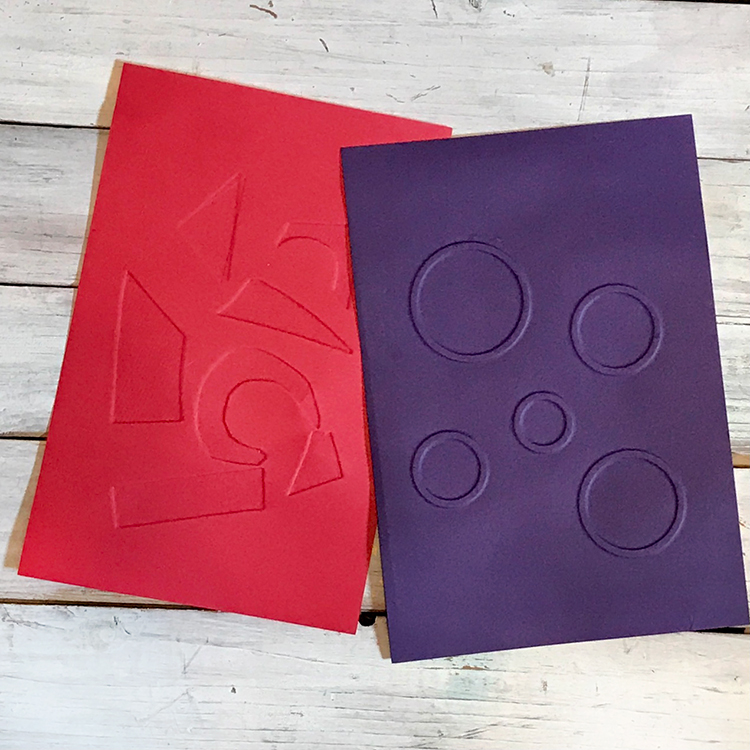 Make your Own Embossing folders