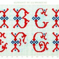 embroidery monogram alphabet image