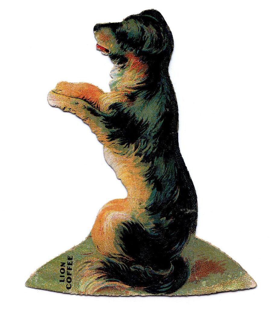 paper doll dog image