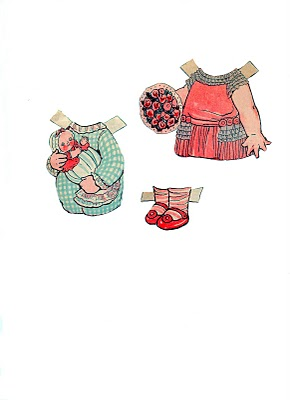 paper doll clothes shoes clipart