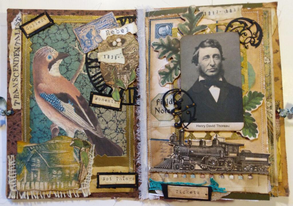Henry David Thoreau journal page spread