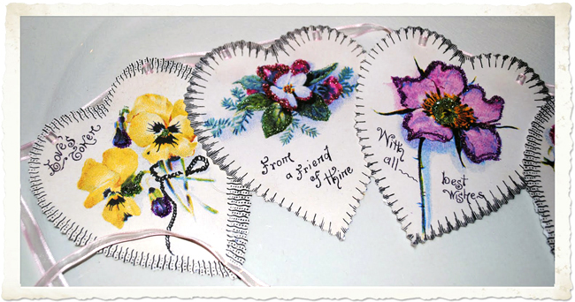DIY Printable Valentine's Garland with hearts and flowers