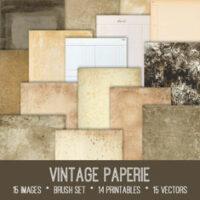 vintage paperie ephemera bundle