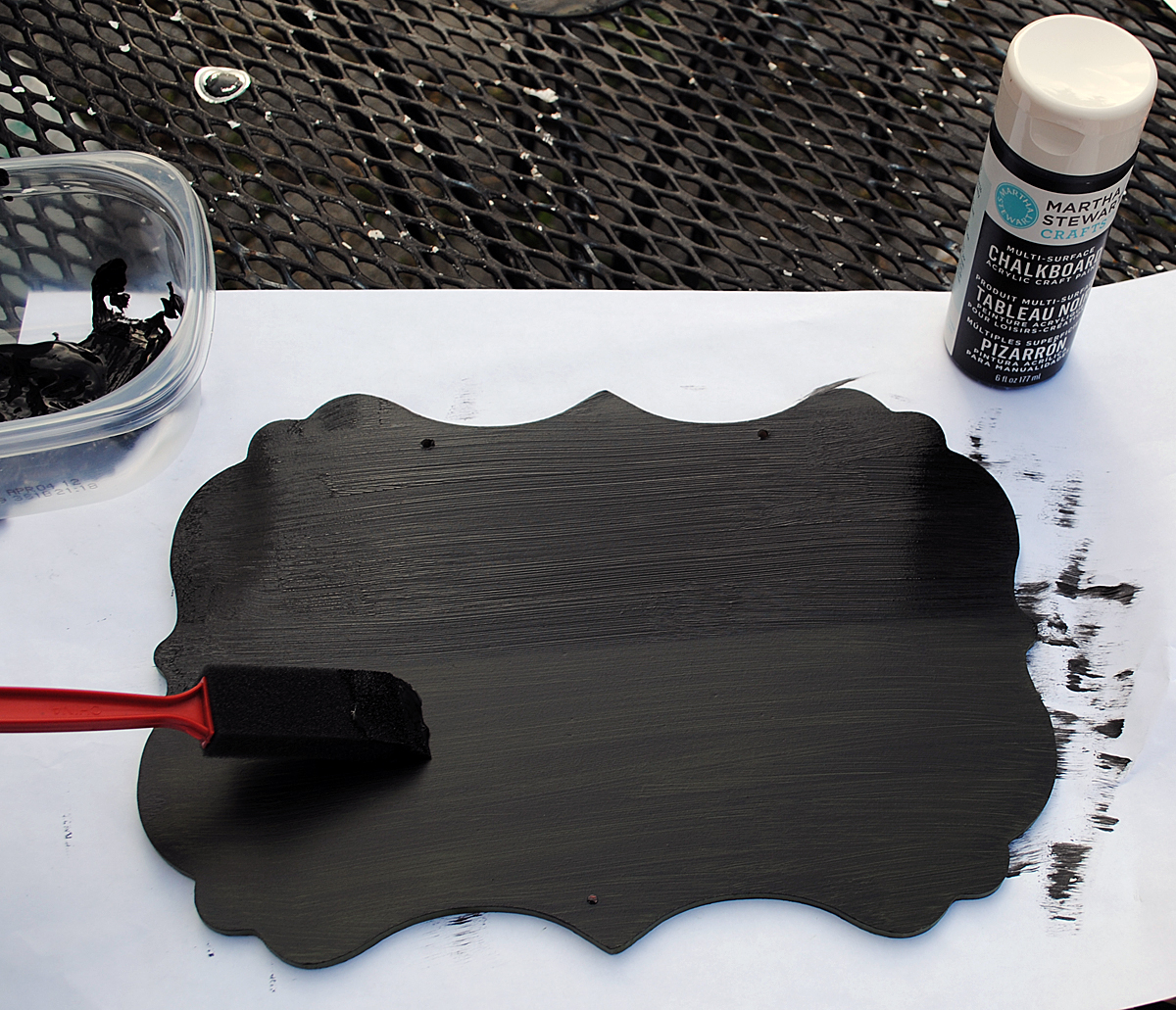 Tutorial painted chalkboard sign the graphics fairy diy tutorial painted chalkboard sign the graphics fairy jeuxipadfo Image collections