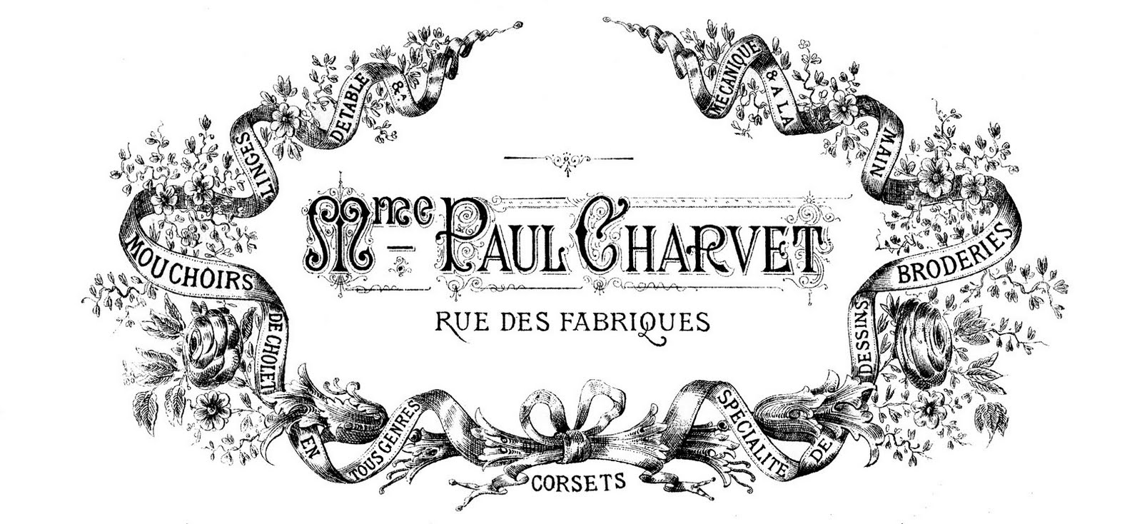 French Chic - Transfer Printables - The Graphics Fairy