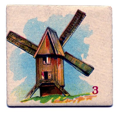 Thursday is Request Day - Windmill Game Card, Oranges, Period Fashions, Stack of Books - The Graphics Fairy