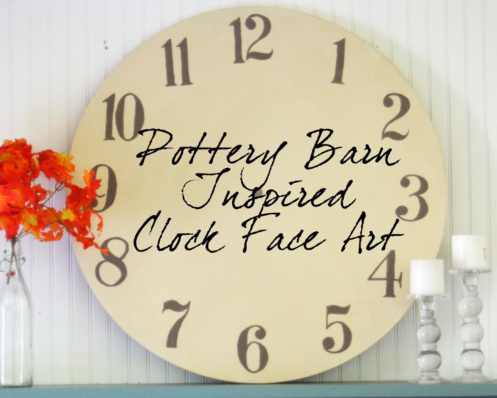 Diy Tutorial Clock Face Art The Graphics Fairy