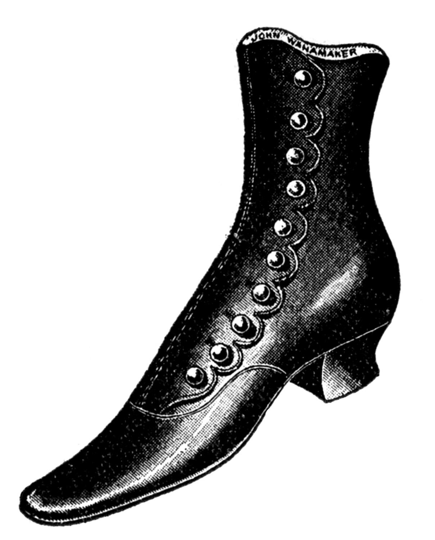 Vintage Shoe Clips Wedding