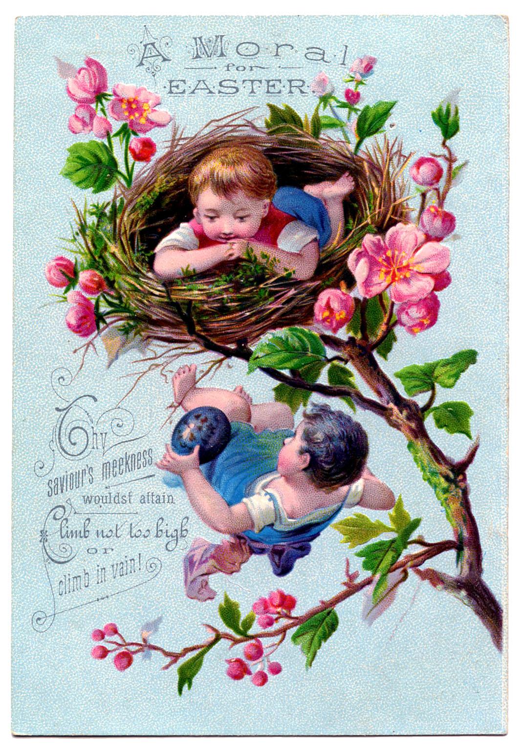 vintage spring clip art - photo #29