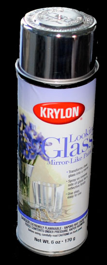 mercurizing spray also known as krylon looking glass spray paint. Black Bedroom Furniture Sets. Home Design Ideas