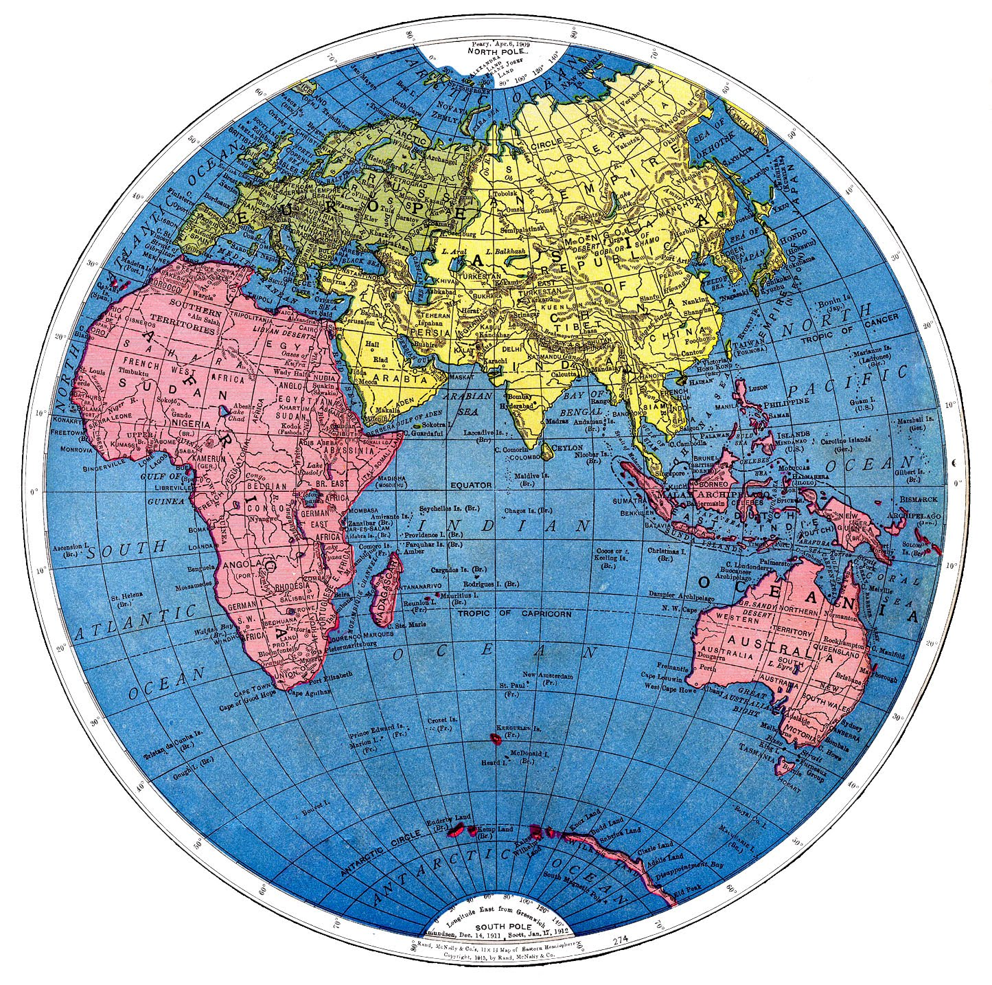 photograph regarding Printable World Map named Classic Printable - Map of the Planet - Section 2 - The Graphics