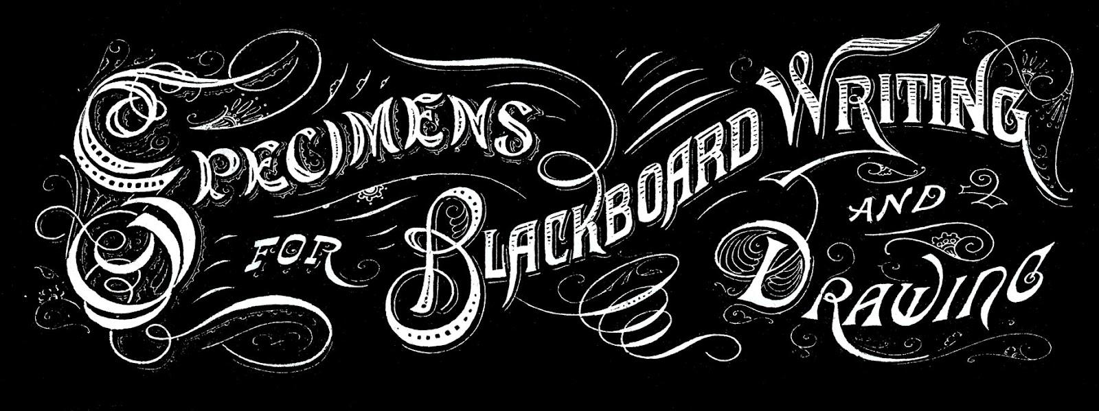 vintage typography amazing chalkboard text