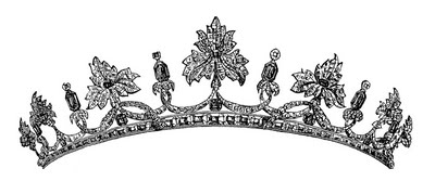 Vintage Clip Art - Royal Tiara & A GIVEAWAY! - The Graphics Fairy