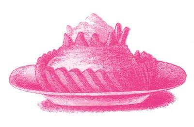 Victorian Image - Sweet Treat - Fancy Dessert - The Graphics Fairy