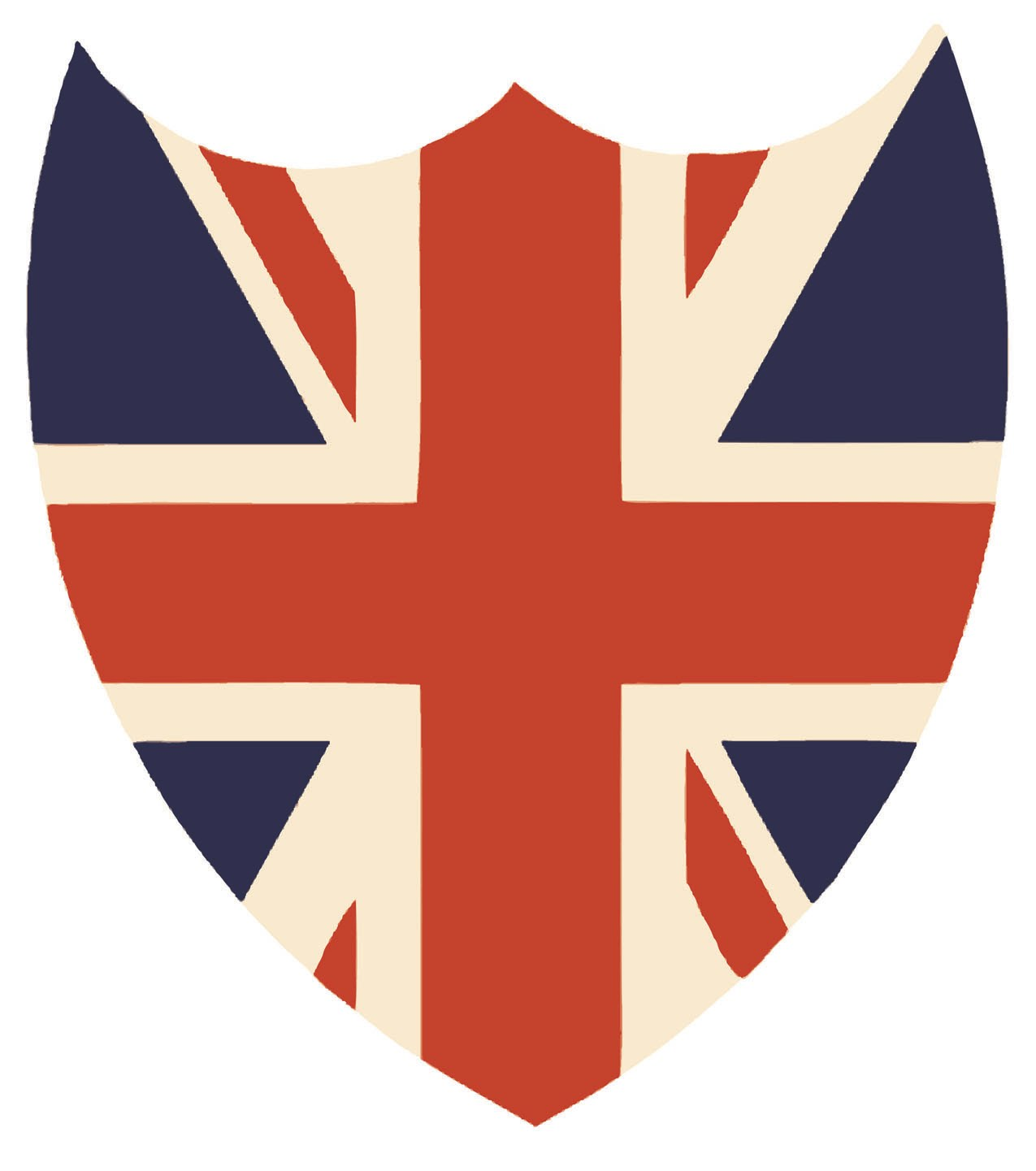 Best Iron On Transfer Paper Union Jack Shield Pillow