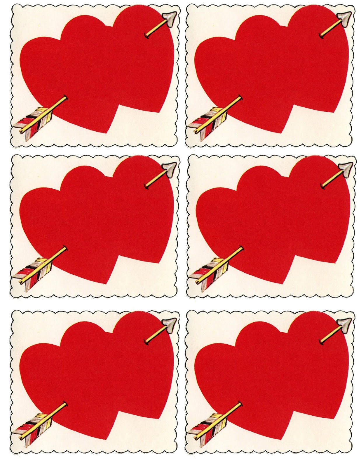 DIY Valentines Place Cards The Graphics Fairy – Valentine Cards Photos