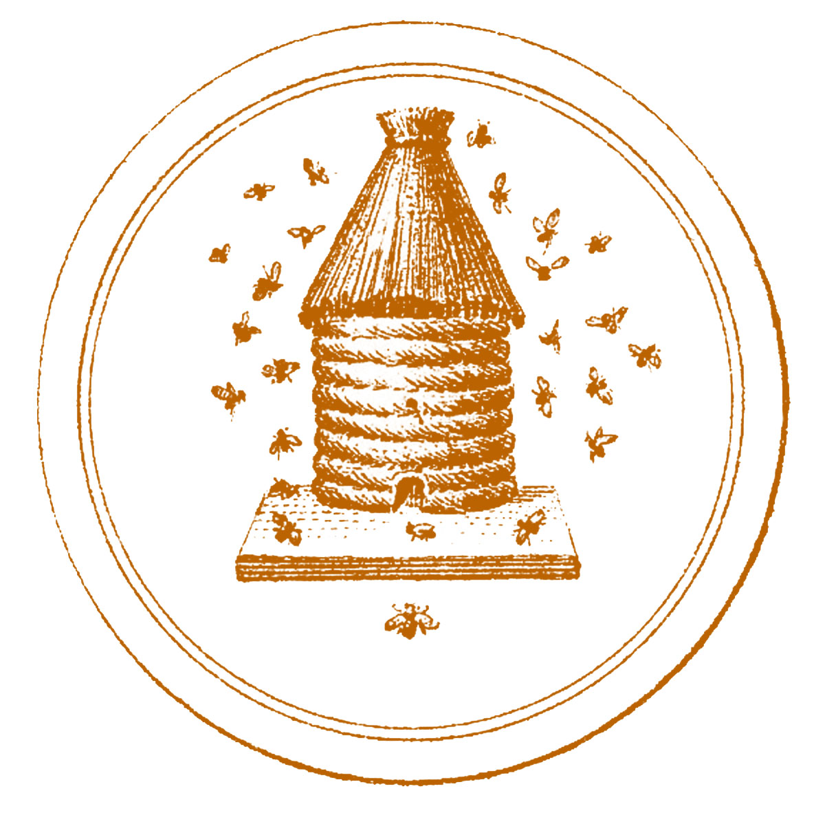 Vintage Graphic - French Beehive - The Graphics Fairy