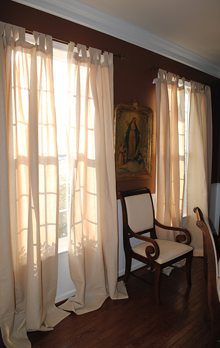 17 Images About Build Ikea Panel Curtain On Pinterest: New Curtains For The Dining Room