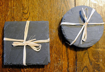 How to Make Faux Chalk Art Coasters - The Graphics Fairy