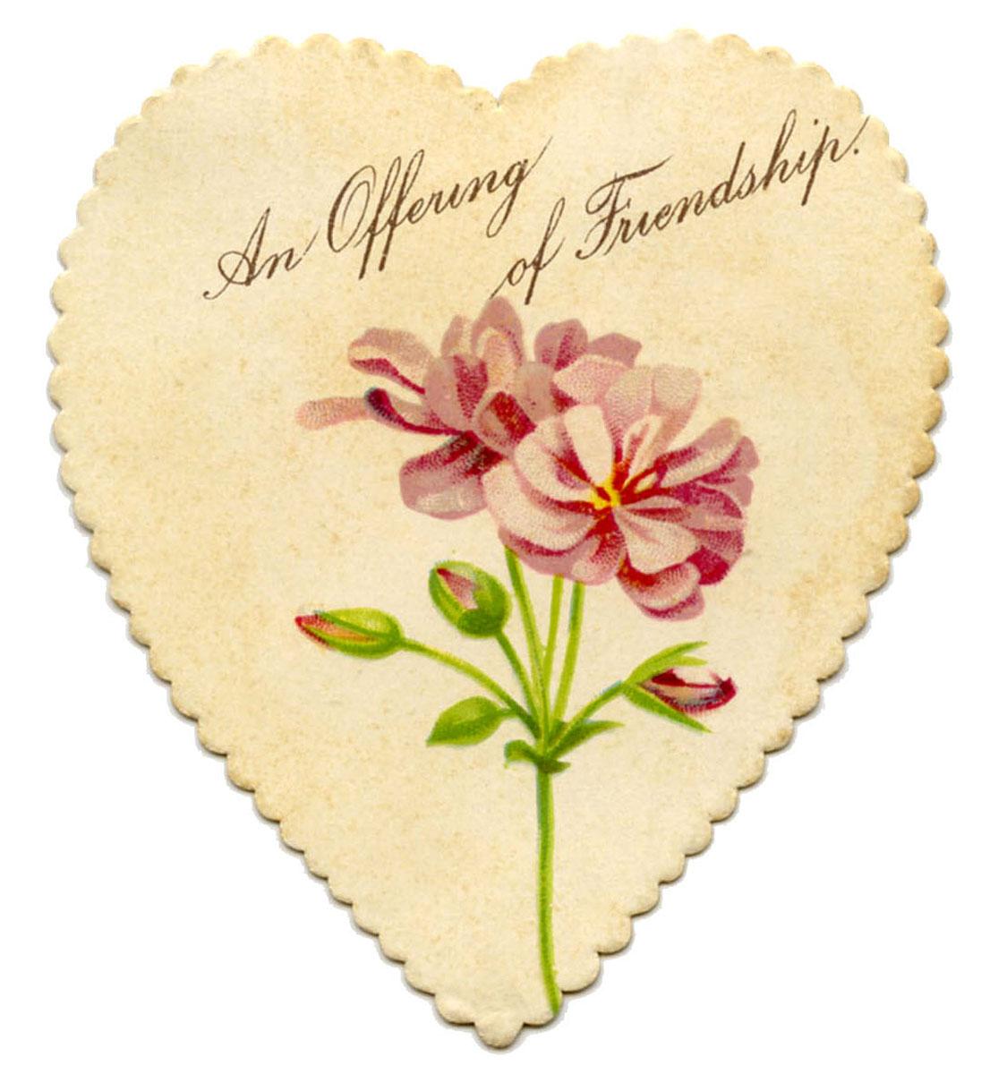 vintage valentine printable heart garland with cupids