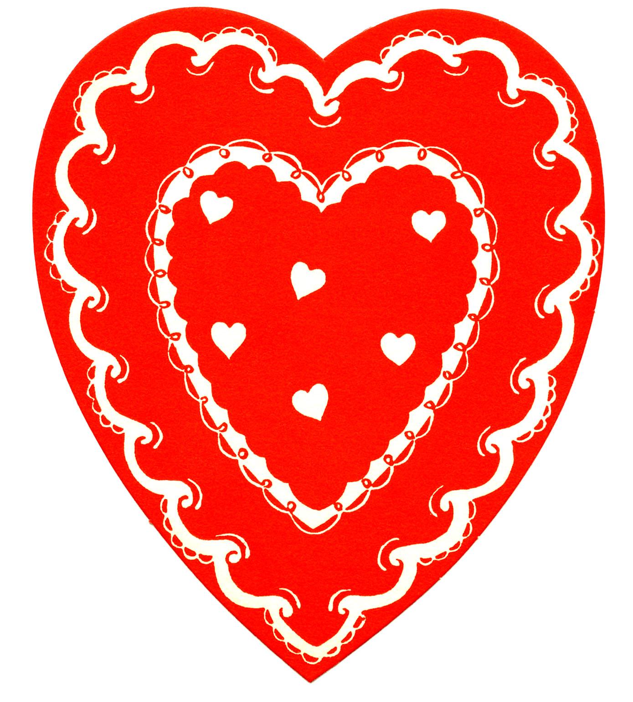 Vintage Valentine's Clip Art