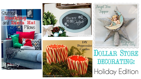 Dollar Store Decorating Link Party