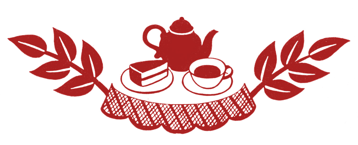 retro teaparty vintageimage Graphics Fairyrd