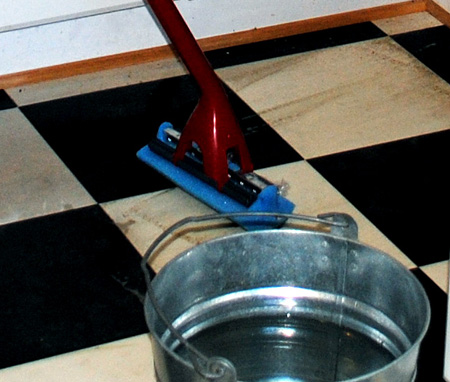 My Secret Tip- How to Clean Vinyl Floors - Easily!  Graphics Fairy