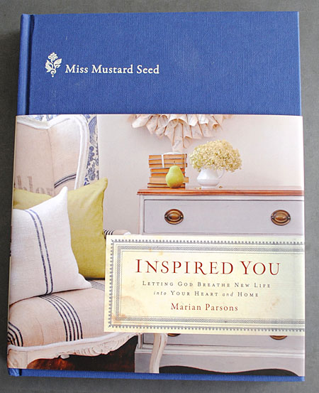 A Giveaway - Inspired You Book by Miss Mustard Seed - Round 2 - The Graphics Fairy