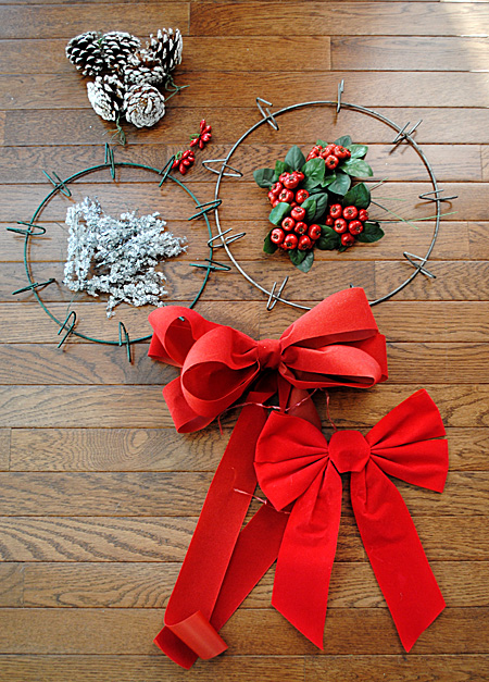 Recycle - Reuse - Your Holiday Wreath  //  The Graphics Fairy