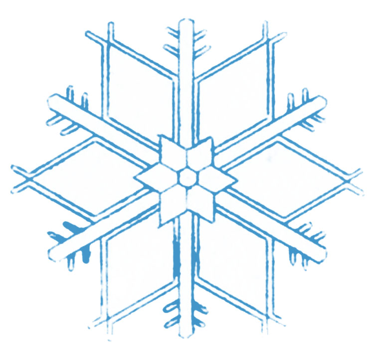 Vintage Winter Clip Art More Lovely Snowflakes The