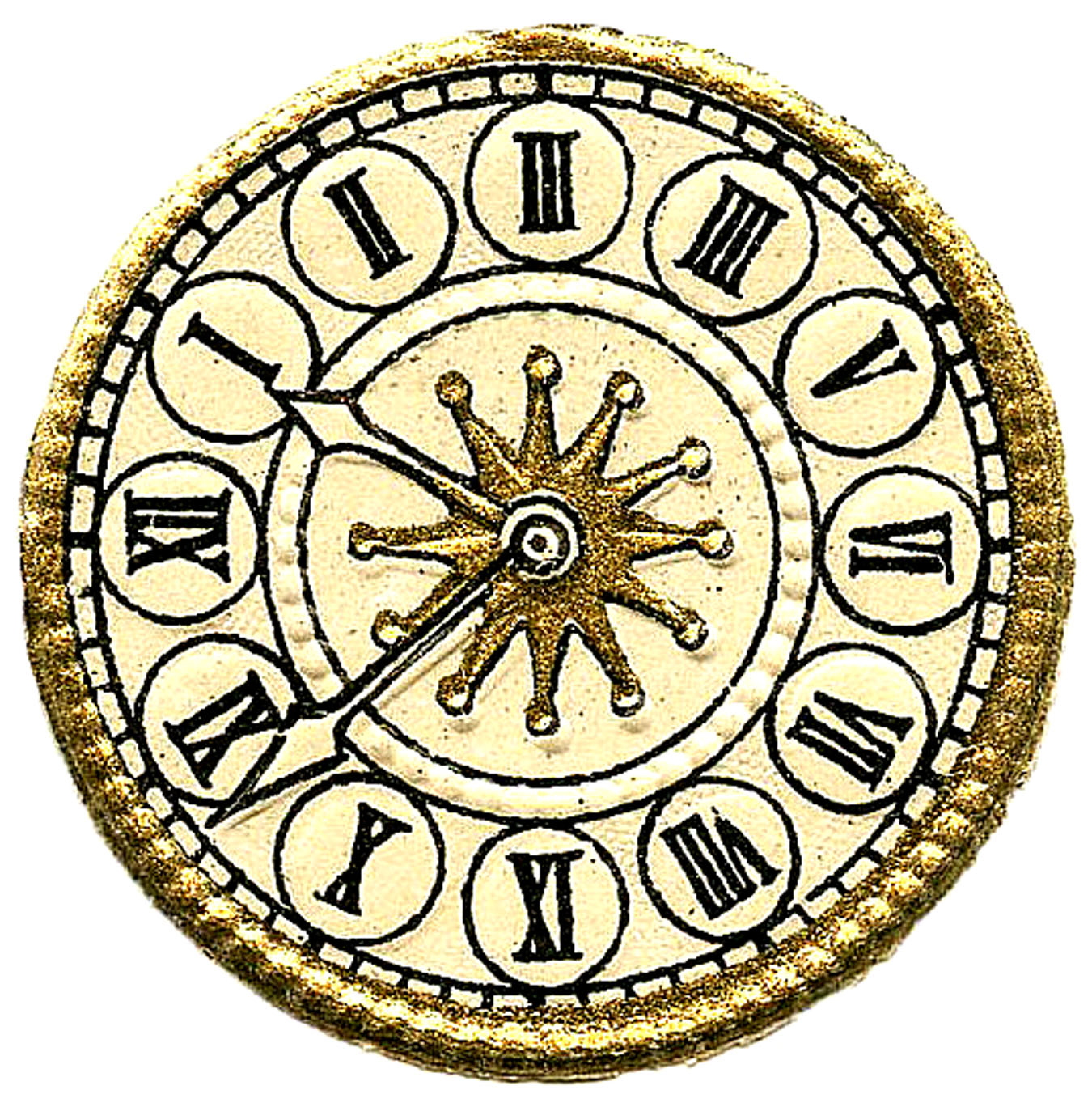 It is a photo of Irresistible Clock Face Images