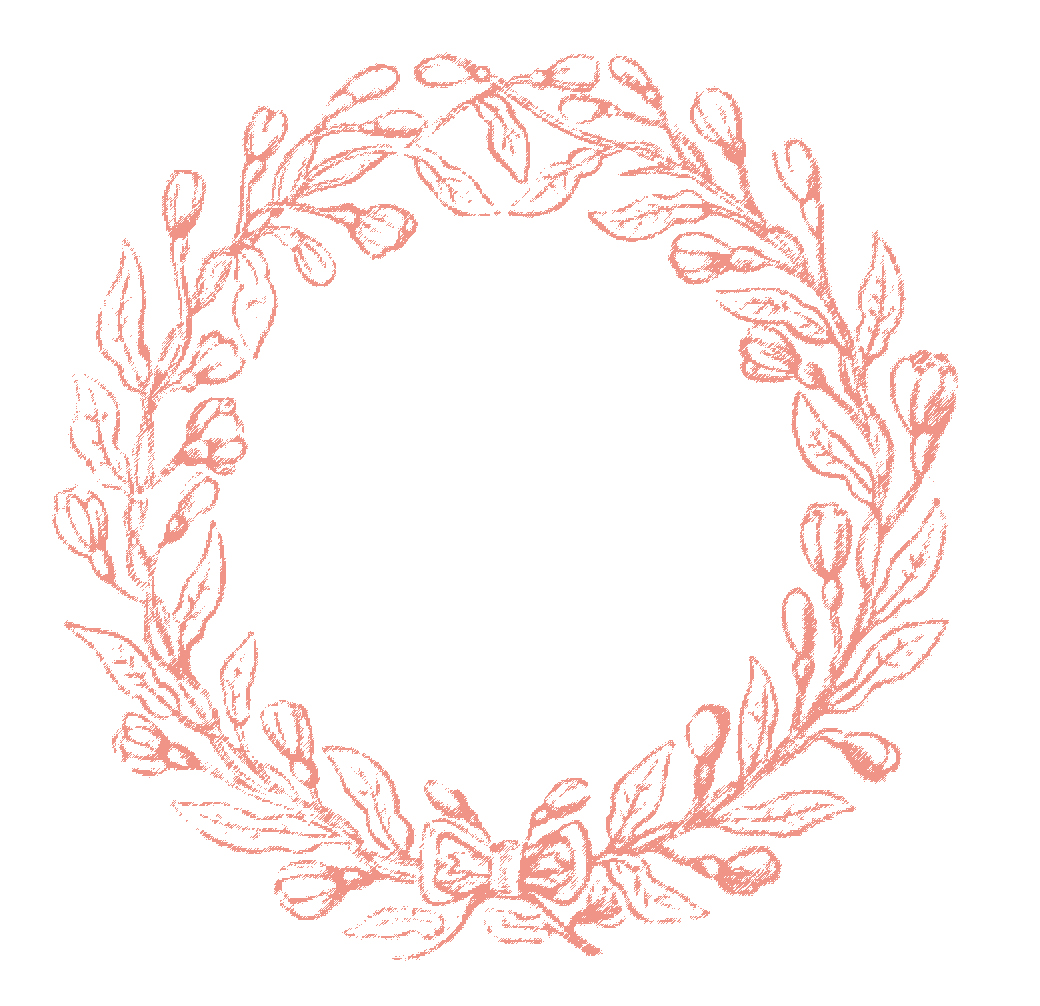 these are some pretty wreath frames from an old embroidery book i love the delicate sketched looking style of these there are several color choices for - Wreath Frames
