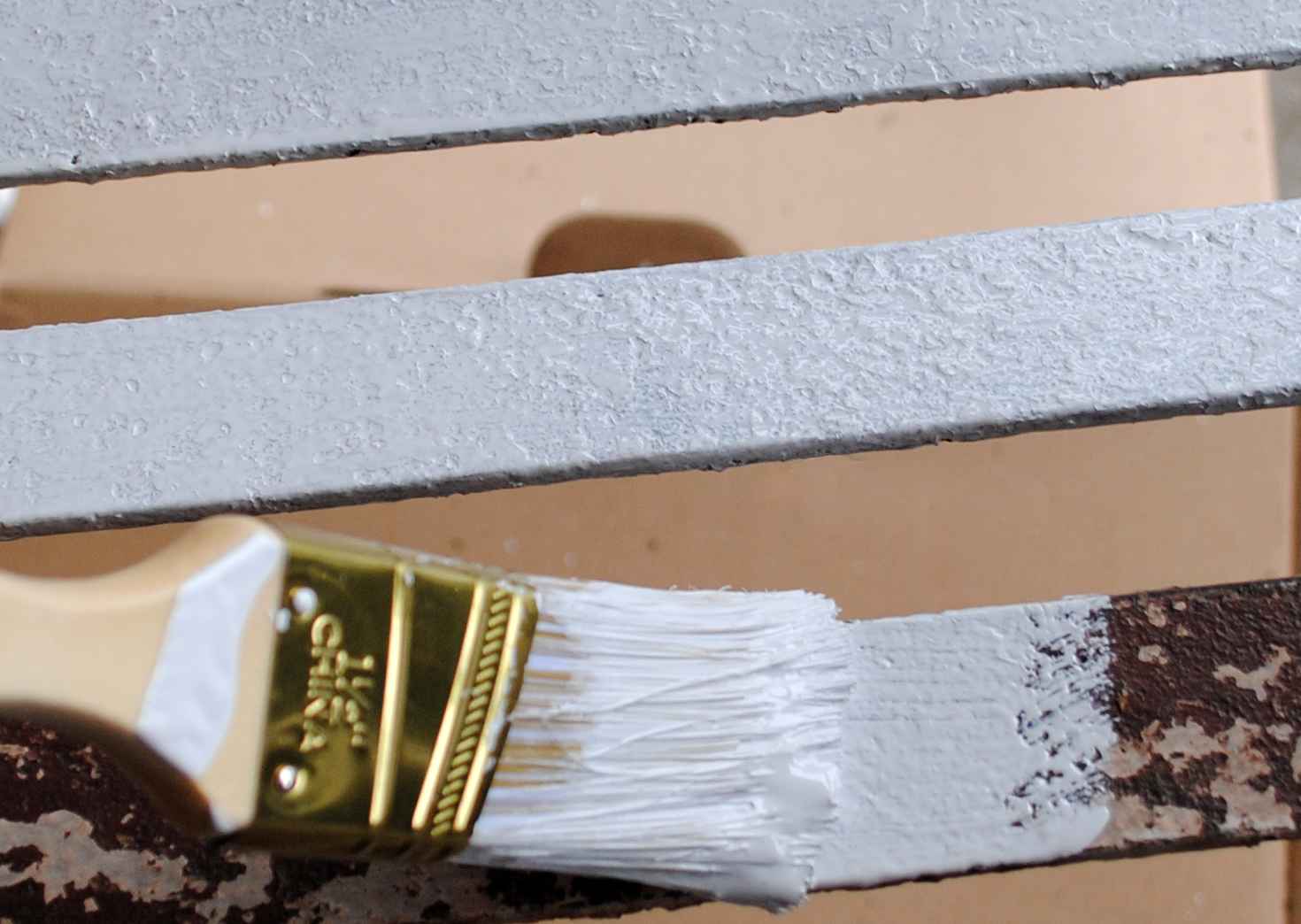 Garden Furniture Paint how to paint - rusty iron garden furniture - the graphics fairy