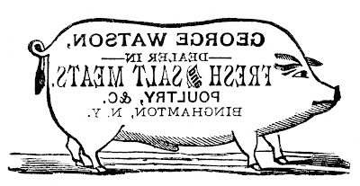 Transfer Printable Pig Sign Farmhouse Style