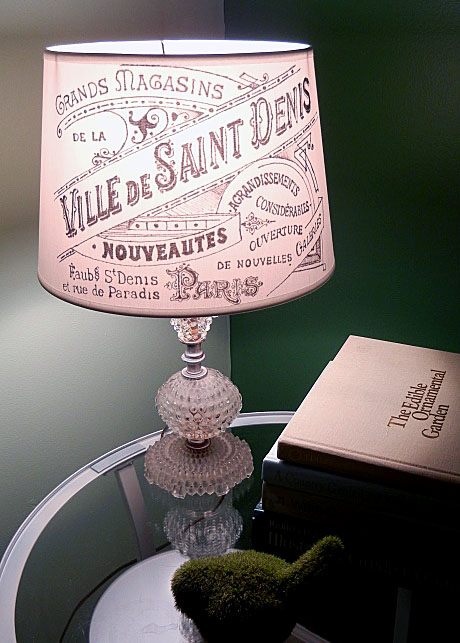 Brag monday french lampshade and whimsical collage the graphics this weeks diy pick is this stunning french lampshade from young wifeys blog love it yf used the paris advertising printable for this very pretty diy mozeypictures Gallery