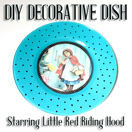 Make Wall Decor Plate Craft Project Tutorial