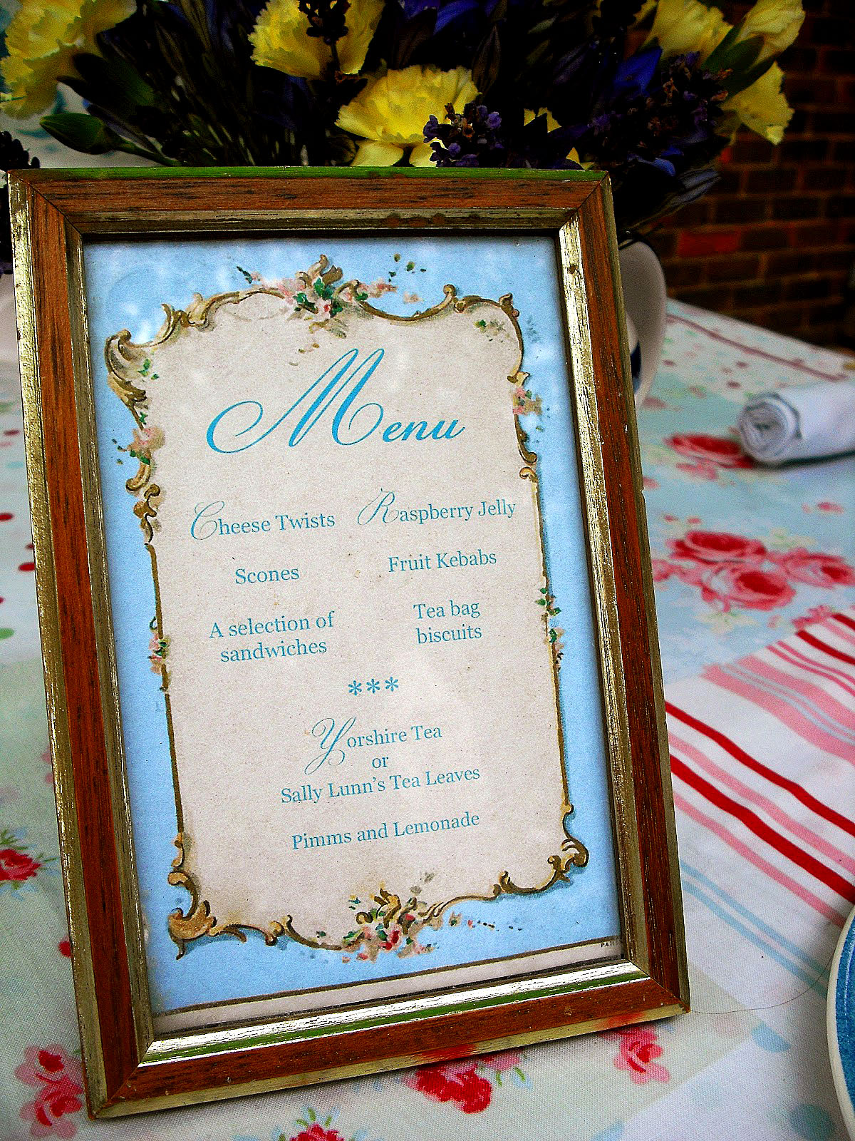 Brag Monday Script Organizer And French Tea Party Menu